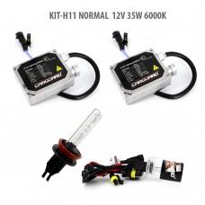 H11 NORMAL  12V 35W 6000K