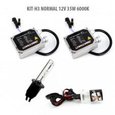 H3 NORMAL 12V 35W 6000K