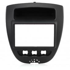 Adaptor 2 DIN CITROEN C1, PEUGEOT, TOYOTA Aygo -2005-2014 - Multibrand