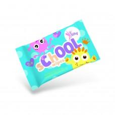 Lavetă umedă Silky School Wipes pentru copii - 15 buc./pachet
