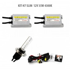 H7 SLIM  12V 35W 4300K