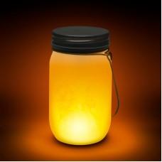Lampă LED cu baterii, model imitaţie de flacără