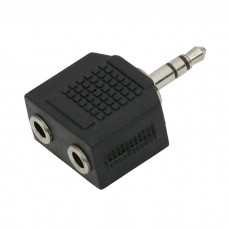 Adaptoare-Y JACK2 x 3.5 soclu JACK–3.5 fisa JACK(stereo)