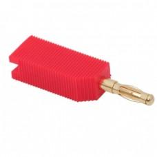 Fisa bananacontact auritpt. cablu max. 4mm