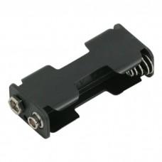 Cutii si carcase pt baterii2 buc. AA (baterie creion)cu mufa de conectare de tip baterie de