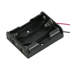 Cutii si carcase pt baterii3 buc. AA (baterie creion)