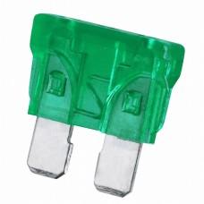 Siguranta19x13mm30A • verde