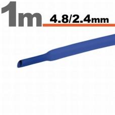 Tub Termocontractibil Albastru • 4,8 / 2,4 mm