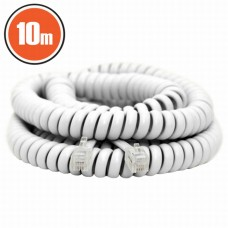 Cablu telefon spiralat4P/4C10 m