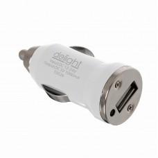 Adaptor priza bricheta USB -alb