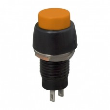 Buton 1 circuit 2A-250V OFF-(ON), orange