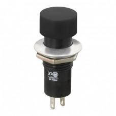 Intrerupator cu apasare 1 circuit 1A-250V OFF-ON, negru