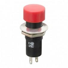 Intrerupator cu apasare, 1 circuit, 1A-250V OFF-ON, rosu