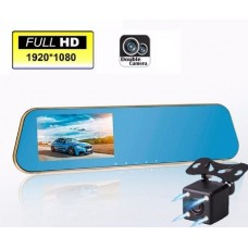 Camera duala Oglinda retrovizoare HD DVR