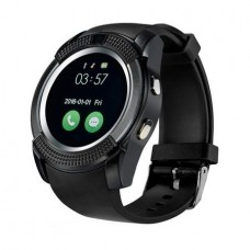 Smartwatch Usmart V8 ,cartela SIM,camera,notificari facebook,whatsApp,negru